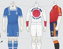Football Strip Concepts 2013