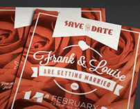 Retro Love Wedding Invite XI