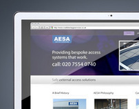AESA Website and Brochure