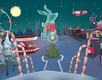 TALLY WEiJL: Holiday Discoveries Animation