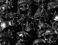 Fourspeed Metalwerks Skull Rings Collection Part Two