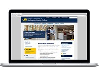 Drexel at BCC website redesign