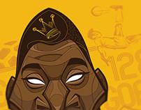 Pelé, The King of Football for Kampion Football Card
