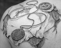 Coins Tattoo