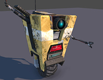 Borderlands - Dirty Claptrap lowpoly