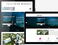 Corporate Website theme- Responsive Design