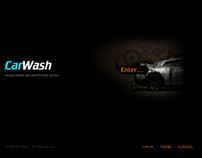 Car Wash Dynamic Flash Template