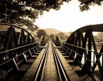 The river kwai Bridge (kanchanaburi) Thailand