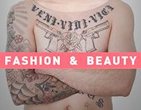 fashion & beauty portfolio
