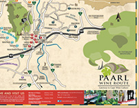 Paarl Wine Route map