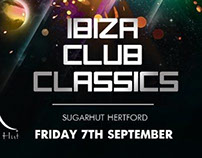 SugarHut Nightclub Flyer