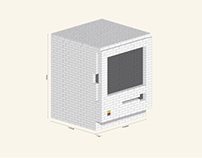 Lego Macintosh iPad dock - Instructions