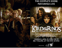 Program Brochure - Lord of the Rings