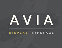 AVIA // TYPEFACE
