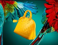Louis Vuitton Alma bags Lightboxes.
