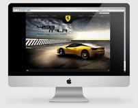 Ferrari Website