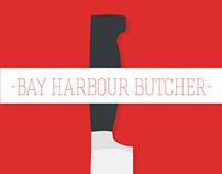 Bay Harbour Butcher Poster Design