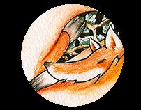 Sleeping foxy