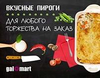 Chalkboard food promotion