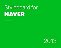 Styleboard for NAVER PC services