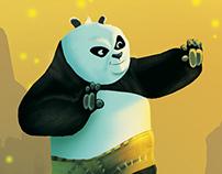 Kung Fu Panda - fan art