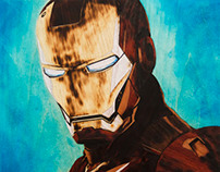 IRON MAN 4Ocm, 186 pieces Intarsia