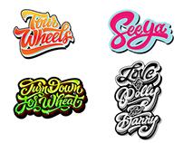 Logos / Prints 13-14-15 part 3