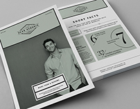 Minimal Resume / CV / Curriculum Vitae / 13 Pages