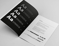 Fonts and their history (brochure)