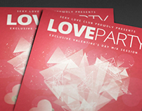 Love Party Flyer I