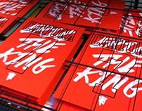 Eric Cantona Typographic Prints