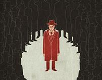 Franz Kafka - Der Process - book cover/poster