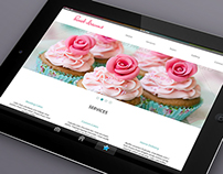 Website: Cake shop Theme
