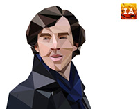 Sher-low-polyed : Benedict Cumberbatch