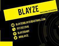 Blayze Business Card
