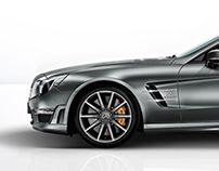 Mercedes-Benz SL Class Flash site
