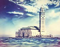 Mosquée Hassan II .