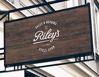 Riley's Cycles Branding & Website