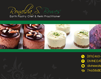 Divine Eatery Business Card