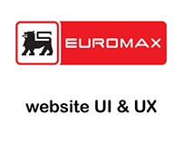 Euromax website - User Interface