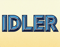Idler Font Design