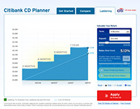 Citibank CD Planner