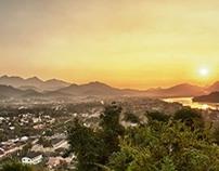 Laos, From Vientiane to Luang Prabang.