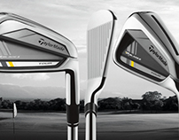 The Pro Shop golf product sliders