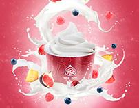 """Frozen yogurt """"FIGO"""""""