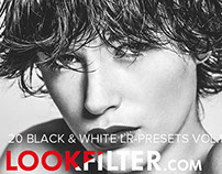 B&W Lightroom Presets Vol.1 made by Lookfilter.com