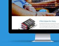 Simplytics - 1 page, responsive website