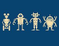 Robot T-Shirt for Prime Level