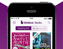 blinkbox Books iOS store images