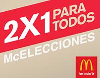 McDonald's · Elecciones.